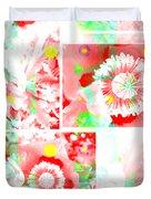 Colour Choice Poppy Collage Duvet Cover