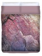 Background Dark Detail Block Of Stone Duvet Cover