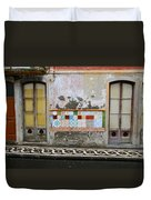 Backstreets Of Palma De Mallorca Duvet Cover