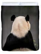 Backward Panda Duvet Cover