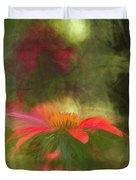 Backyard Coneflower Duvet Cover