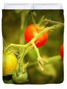 Backyard Garden Series - Cherry Tomatoes Duvet Cover