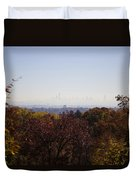 Backyard View Duvet Cover