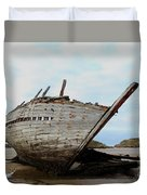 Bad Eddie's Boat Donegal Ireland Duvet Cover