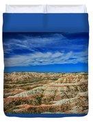Badlands 12 Duvet Cover