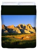 Badlands Buttes, South Dakota Duvet Cover