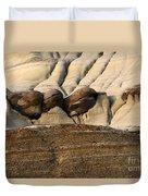 Badlands Drumheller Alberta Canada 4 Duvet Cover