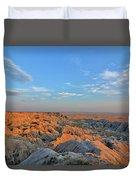 Badlands Evening Duvet Cover