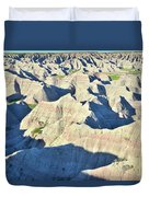 Badlands National Park Duvet Cover