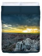 Badlands Np Pinnacles Overlook 2 Duvet Cover
