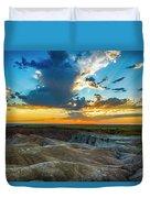 Badlands Np Wilderness Overlook 1 Duvet Cover