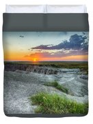 Badlands Np Wilderness Overlook 3 Duvet Cover