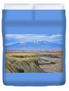 Badlands Of Utah Duvet Cover