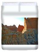 Badlands Sunset Duvet Cover