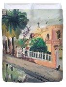 Baghdad Old House Duvet Cover