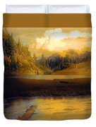 Bagley Lake Duvet Cover