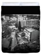 Baguio City On High Duvet Cover
