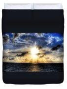 Bahama Sunset By Steve Ellenburg Duvet Cover