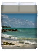 Bahamas Beach Duvet Cover