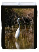 Bailey Tract Egret Two Duvet Cover