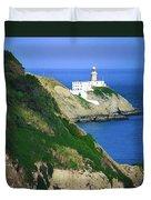 Baily Lighthouse, Howth, Co Dublin Duvet Cover