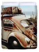 Baja Bug Duvet Cover