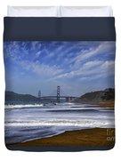 Baker Beach Duvet Cover