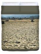 Baker Lake Desert  Duvet Cover