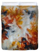 Balance And Harmony Abstract Painting Duvet Cover