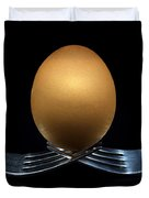 Balancing Egg Duvet Cover