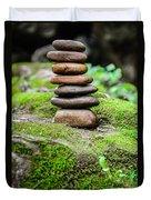 Balancing Zen Stones IIi Duvet Cover