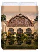 Balboa Park Botanical Building Symmetry Duvet Cover