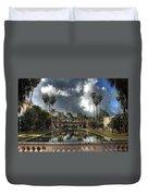 Balboa Park Fountain Duvet Cover