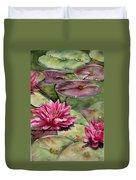 Balboa Water Lilies Duvet Cover