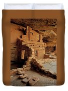 Balcony House, Mesa Verde Np, Co Duvet Cover