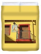 Spanish Balcony Duvet Cover