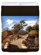 Balcony To The North Rim Duvet Cover