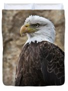 Bald Eagle - Portrait 2 Duvet Cover