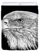Bald Eagle #4 Duvet Cover