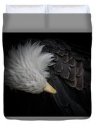 Bald Eagle Cleaning Duvet Cover