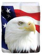 Bald Eagle Close Up Duvet Cover