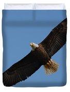 Bald Eagle In Flight 031520169113 Duvet Cover