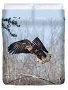 Bald Eagle Near Itasca Duvet Cover