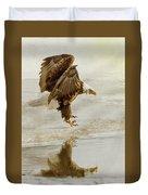 Bald Eagle Series #1 - Eagle Is Landing Duvet Cover