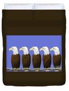 Bald Eagles Duvet Cover