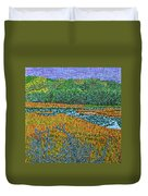 Bald Head Island, Deying Gravity Duvet Cover