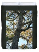 Bald Head Tree Duvet Cover
