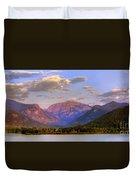 Baldy Shadow Mountain Lake Duvet Cover