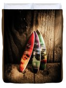 Bali Beach Surf Holiday Scene Duvet Cover