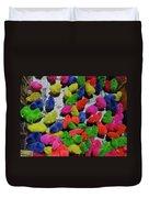 Bali Coloured Chicks Duvet Cover